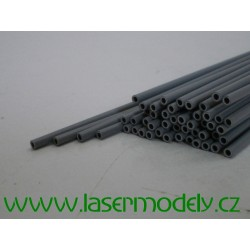 Plastová trubička 3x2 mm