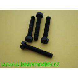 Polyamidový šroub M5x30-4ks