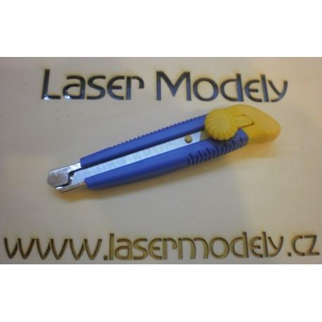 Nůž odlamovací plast-kov 18 mm