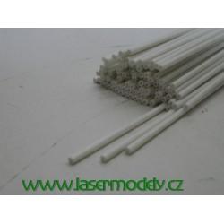 Plastová trubička 2x1 mm