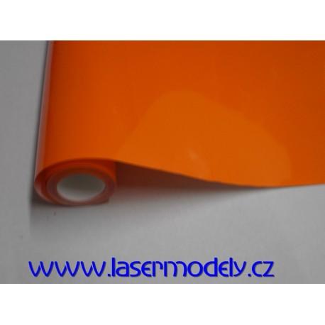 Fólie oranžová-7