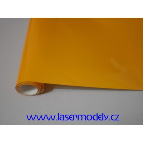 Fólie tmavě žlutá-41