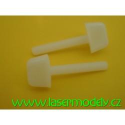 Polyamidový šroub s křídlovou hlavou M5x30-2ks