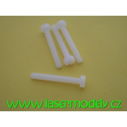 Polyamidový šroub 3x25