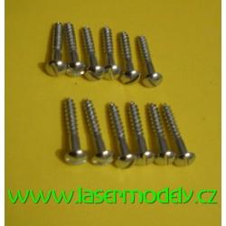 Vrut na upevnění serva M 2,5x16 - 12ks