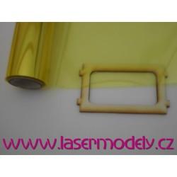 Fólie transparentní žlutá