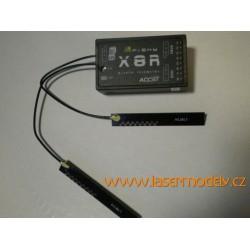 FrSky X8R 8/16CH SBUS ACCST  telemetrický přijímač
