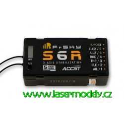 FrSky S6R- 6CH přijímač se stabilizací